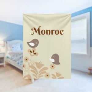 Birdies-Kids-Name-Blanket
