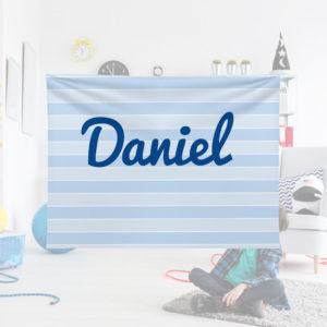 Blue-Stripe-Kids-Name-Blanket
