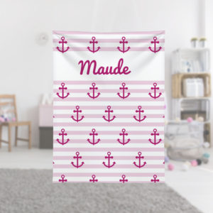 Pink-Anchors-Kids-Name-Blanket