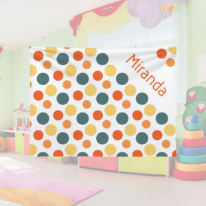 Candy-Dots-Kids-Name-Blanket