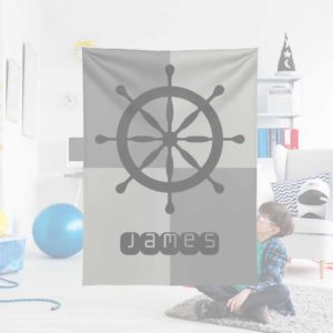 Ships-Wheel-Kids-Name-Blanket