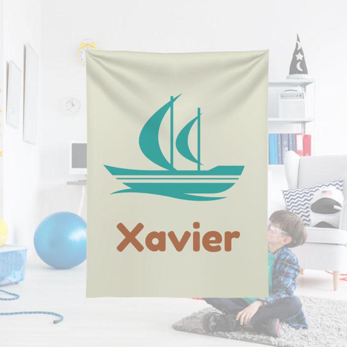 Sailboat-Kids-Name-Blanket