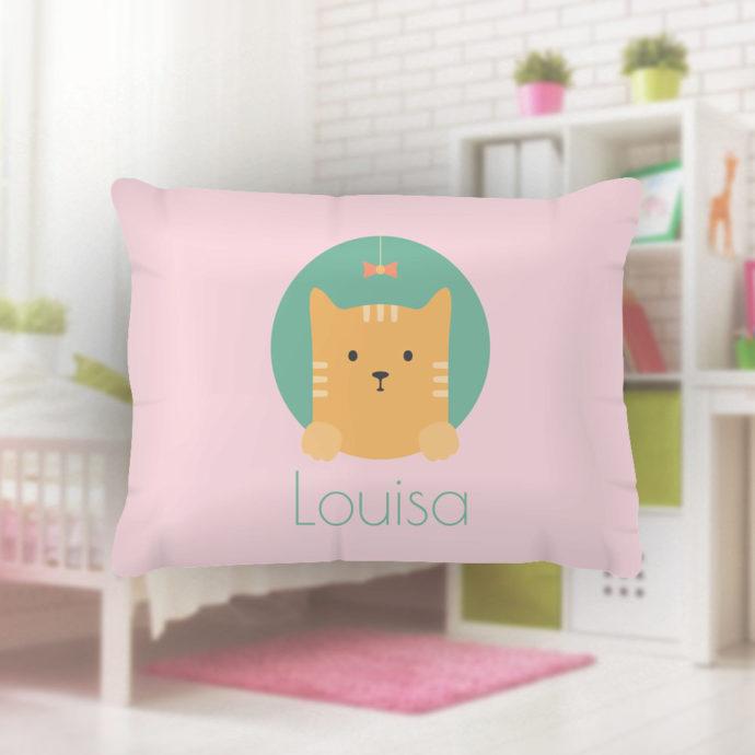 Peek-a-Boo-Kitty-Kids-Name-Pillowcase