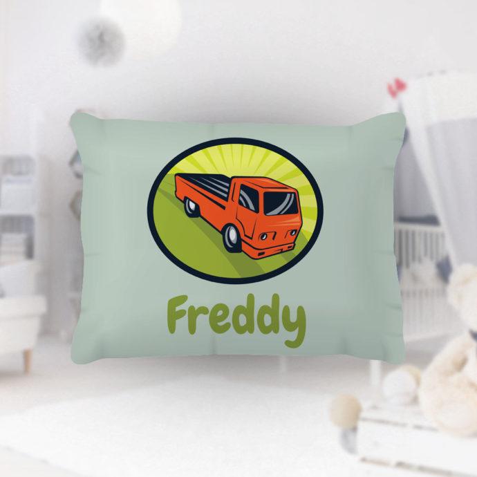Pickup-Truck-Kids-Name-Pillowcase
